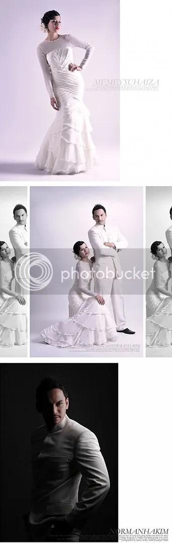 gambar kahwin memey norman