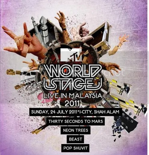 celcom mtv world stage