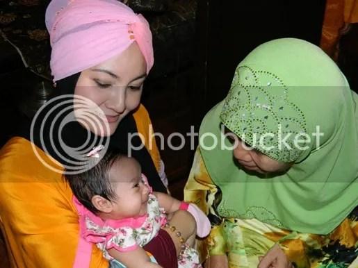 gambar majlis aqiqah mawi ekin cahaya malaika