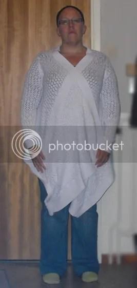 Kofta från Cubus strl M, jeans från KappAhl strl 44