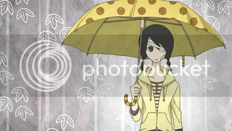 I love love love Abirus Giraffe-themed umbrella and boots!