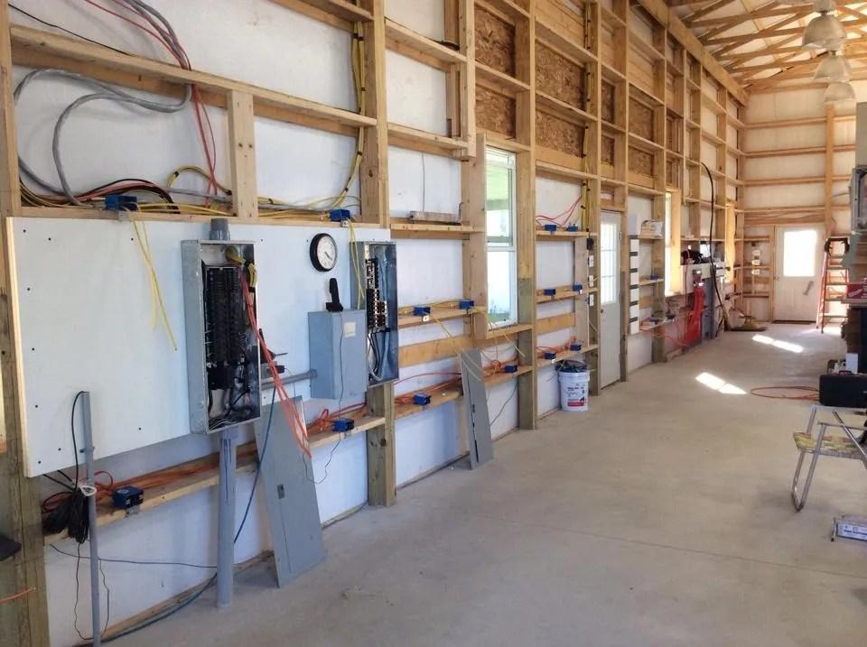 pole barn wiring enthusiast wiring diagrams u2022 rh rasalibre co pole barn electrical wiring diagram Bad Electrical Wiring