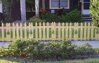 pineapple fence