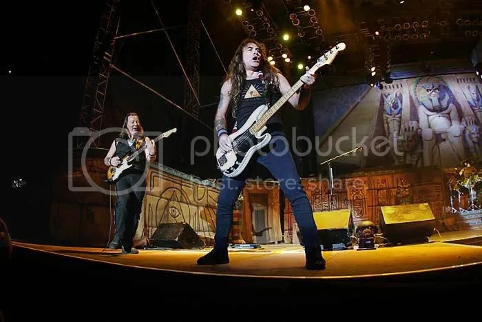 Dave Murray y Steve Harris