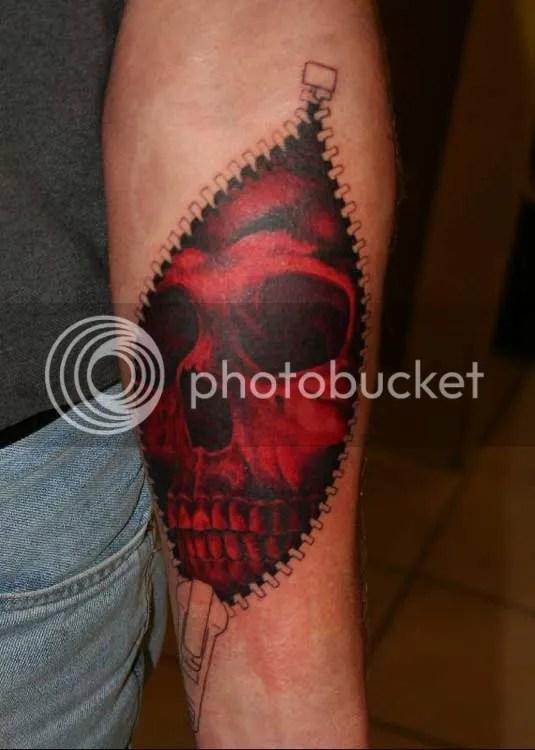 Filed under Shoulder, Skull, Temporary Tattoo Designs