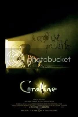 Coraline Movie based on a novel by Neil Gaiman