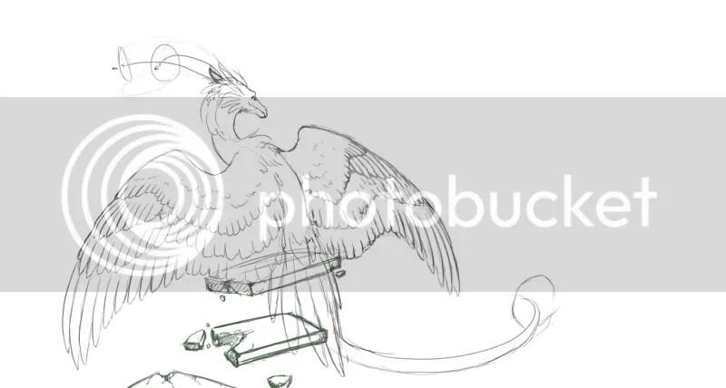 Perching Dragon - Work In Progress II