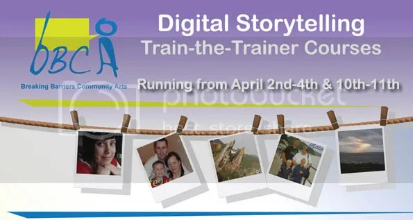 Digital storytelling – Train the Trainer courses