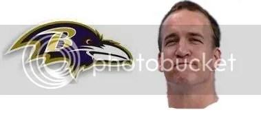 Ravens vs. Peyton
