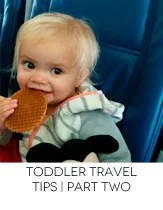 travel with toddler two