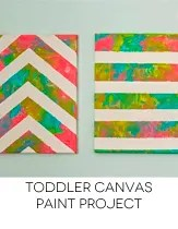 toddler paint project