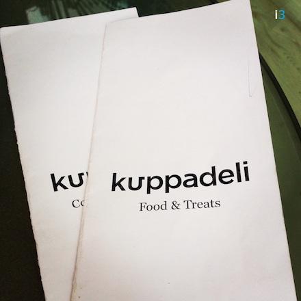 Kuppadeli Menu Front Cover