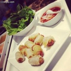 geyhound cafe vietnamese spring rolls (bangkok)
