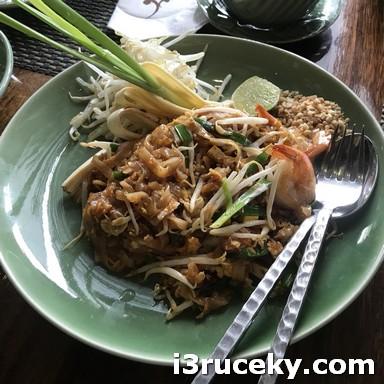 phad thai @ Nara Restaurant