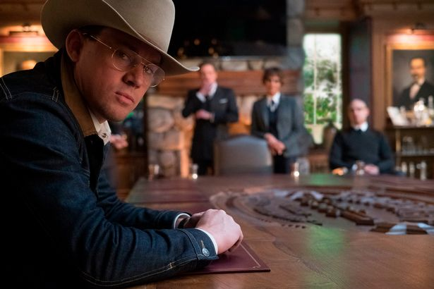 Image result for kingsman the golden circle scene