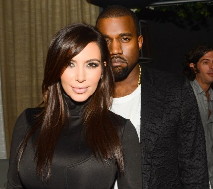 Dom Perignon celebration, Miami, America - 06 Dec 2012<br /> Kim Kardashian, Kanye West<br /> 6 Dec 2012