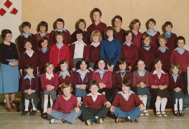 Wallsend Central Middle School, 1979  Check out how faculty uniforms within the North East have modified through the years JS98444662