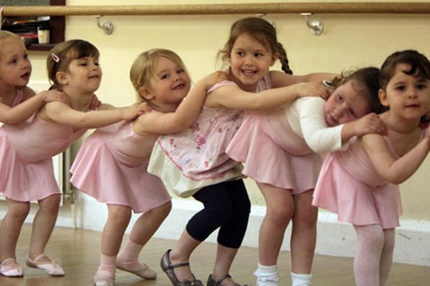 Pupils at the Hunter Theatre Arts school