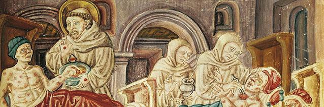 Image credit: La Franceschina (detail), c. 1474, Biblioteca Augusta, Perugia, Italy. artist unknown.