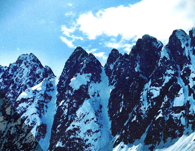 Sawtooth Couloirs