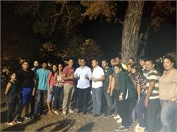 Conversatorio con líderes del PNP en Salinas