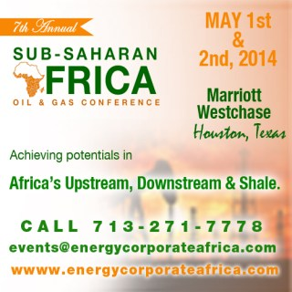 Annual Sub-Saharan African Oil & Gas Conference 2014