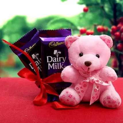 Chocolate For Love Gift Chocolate For Love 2 Teddy Bears