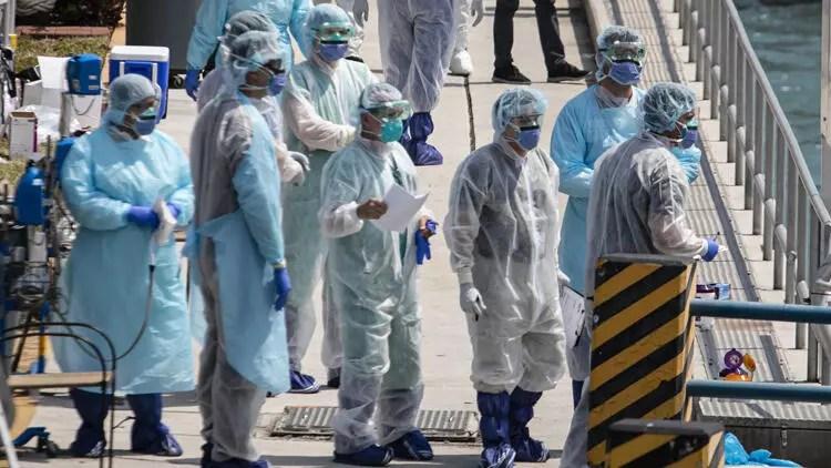 Son dakika... ABD, corona virüs vaka sayısında Çin ve İtalya'yı geçmişte bıraktı! 1