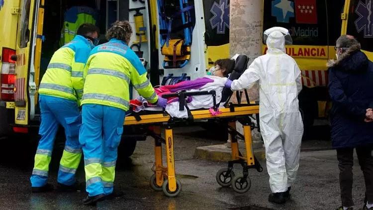 Son dakika haberi: İspanya'da korona virüsten 605 can kaybı daha 1