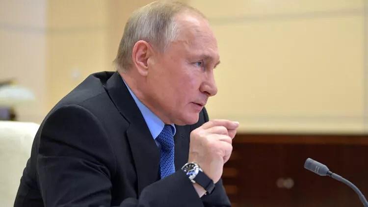 """Rusya Devlet Lideri Putin'den """"Kovid-19'la ilgili durum berbata gidiyor"""" açıklaması 1"""
