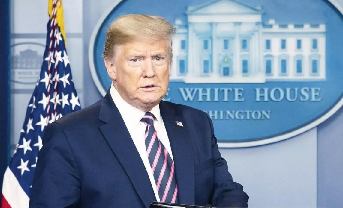 Reaksiyonlara kızan Trump'tan basına çıkmama iması 1