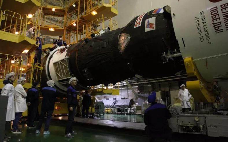 Progress MS-14 kargo kapsülü uzaya fırlatıldı 1