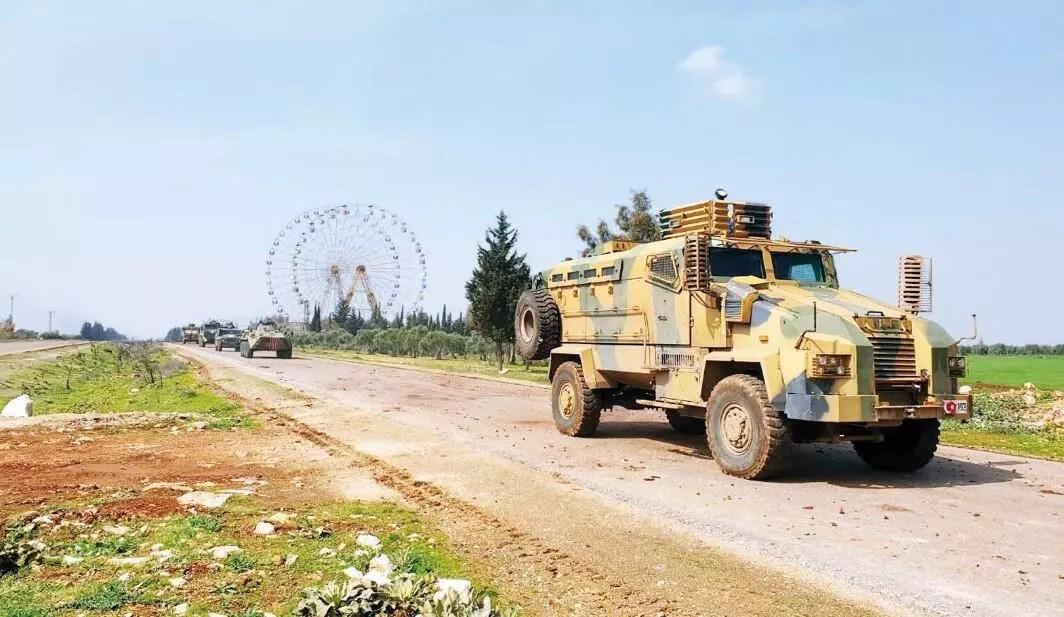 Radikaller İdlib'de Türk askerine saldırdı 1