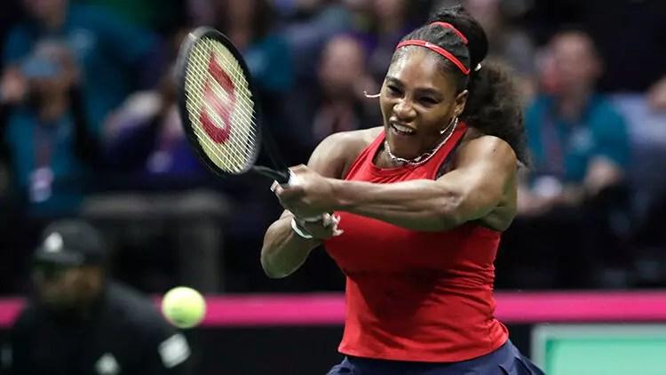 Serena Williams, corona virüs nedeniyle kendisiyle maç yaptı 1