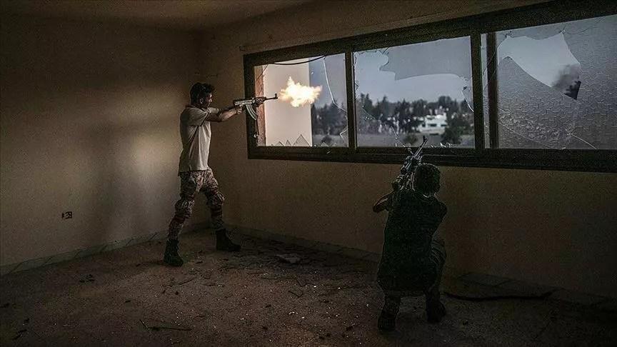 Libya ordusundan, Trablus'un güneyindeki Hafter milislerine operasyon 1