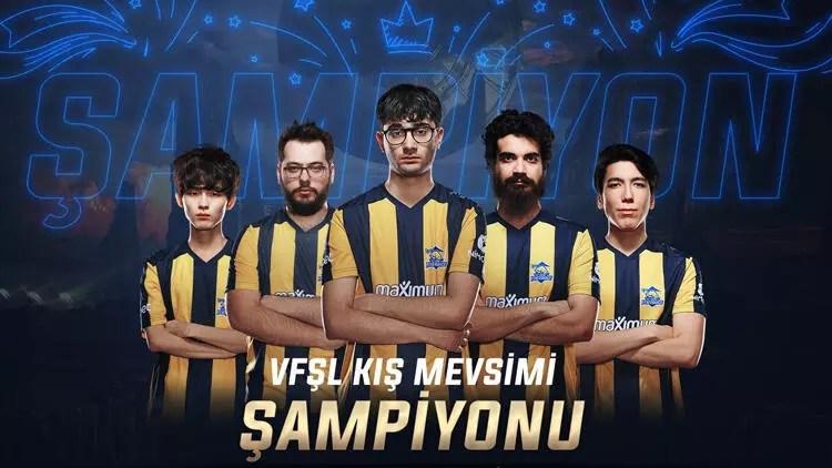 Vodafone Freezone Şampiyonluk Ligi'nde kış şampiyonu 1907 Fenerbahçe 1