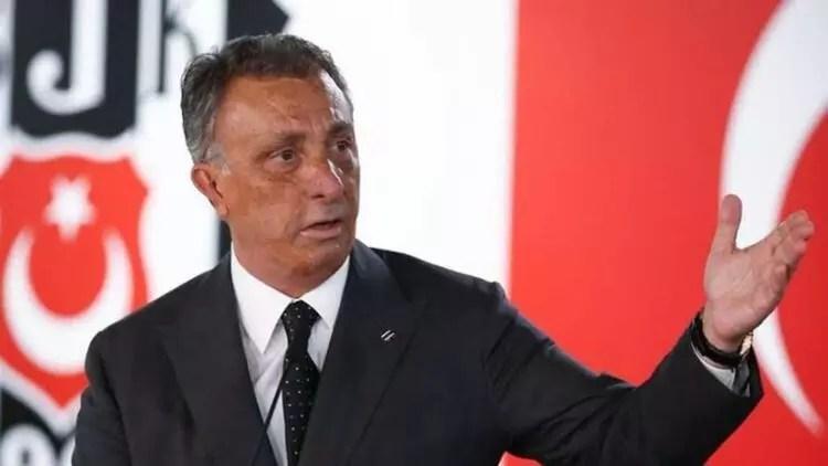 """Beşiktaş'ta Ahmet Işık Çebi'ye moral: """"Seviyoruz seni başkanım"""" 1"""