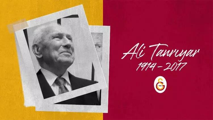 Galatasaray, eski liderlerden Ali Tanrıyar'ı andı 1