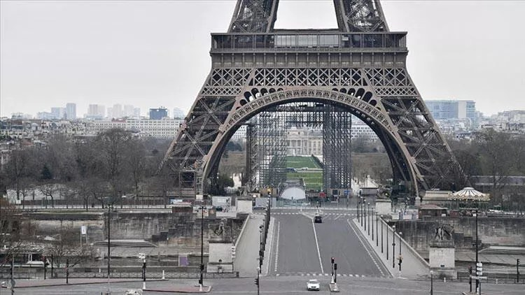 Fransa'da Kovid-19'dan ölenlerin sayısında artış sürüyor 1