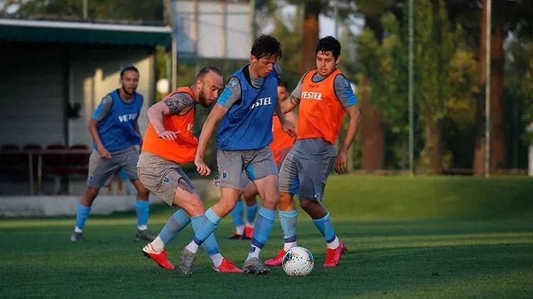 Trabzonspor, hazırlıklarını akşam idmanıyla sürdürdü 1