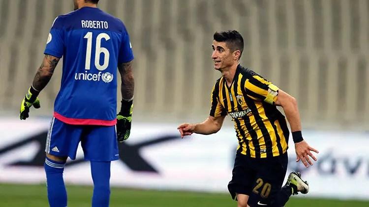 Son dakika transfer haberleri   Beşiktaş için İstanbul'a gelen AEKlı Petros Mantalos'un transferine bonservis pürüzü 1