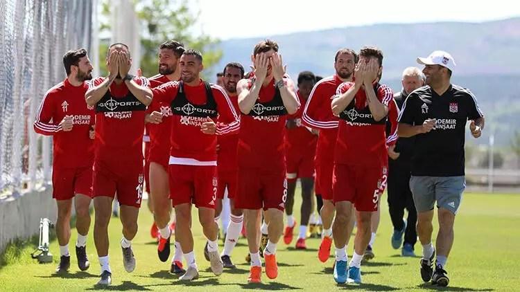 Sivasspor hazırlıklarına devam etti 1