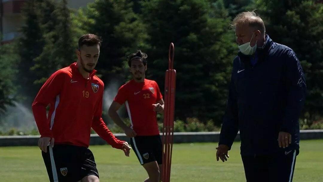 Kayserispor'da Fenerbahçe hazırlıkları sürüyor 1