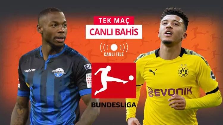 Haaland yoksa Sancho var! Dortmund'un Paderborn karşısında iddaa oranı... 1