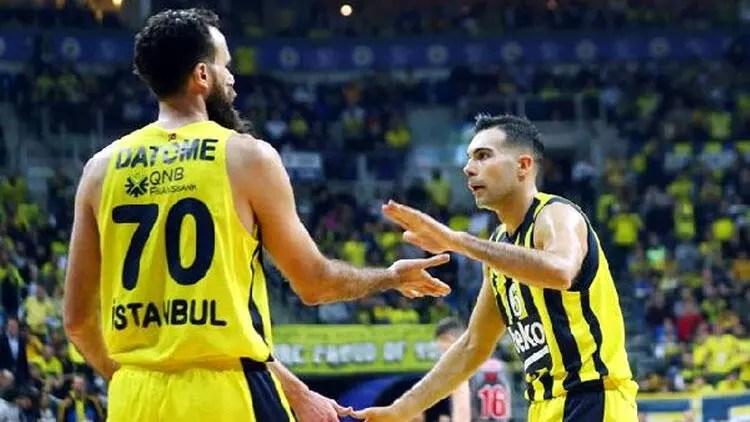 Son dakika transfer haberleri | Fenerbahçe Beko'nun yıldızları Luigi Datome ve Kostas Sloukas'a dev talipler 1