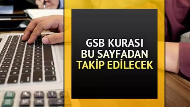 GSB personel alımında son durum: GSB kura sonuçları ne zaman açıklanacak? 13
