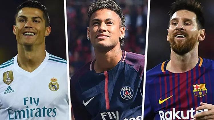 Ronaldo, Neymar ve Messi'ye fark attı - Spor Haberi