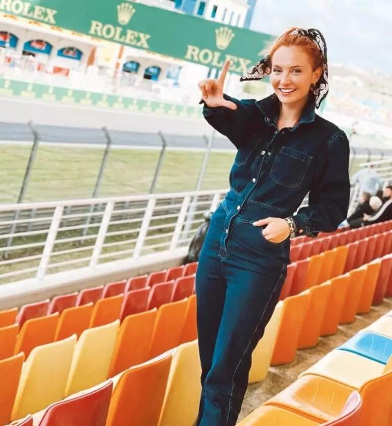 Hande Erçel, Kerem Bürsin, Aras Bulut İynemli... Ünlüler Formula 1'de