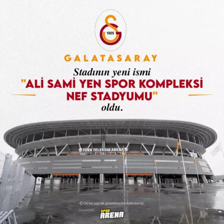 Son Dakika: Galatasaray'ın stadının yeni ismi açıklandı! Başkan Burak Elmas'tan yeni müjdeler...