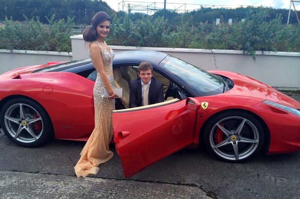 Is This The Best Prom Date EVER Teen Borrows Pals